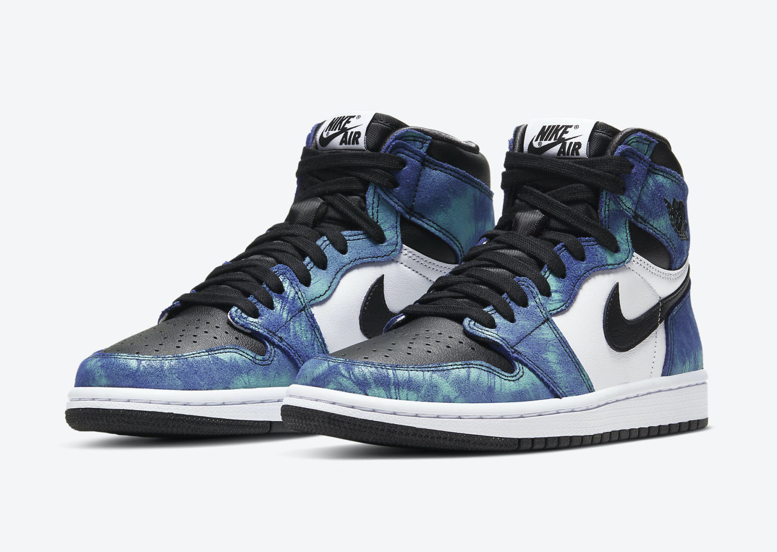 Stand out with the Air Jordan 1 High OG 'Tie-Dye'