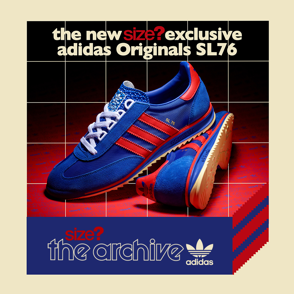 We're bringing the adidas Originals SL 76 back in two striking colourways exclusive to size?