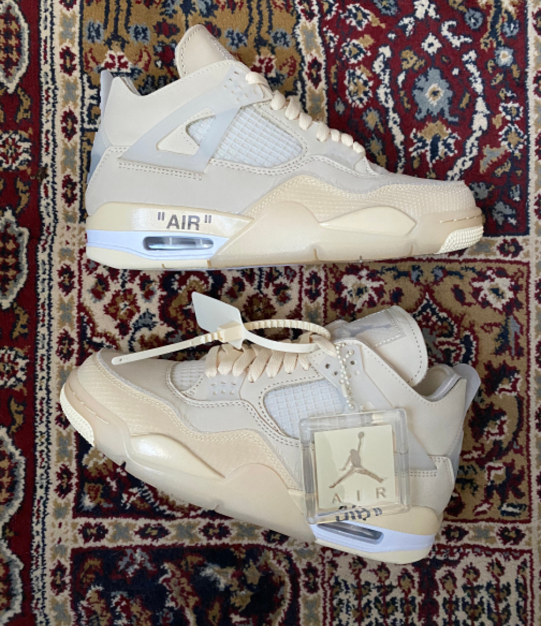 Off White x Jordan Air Jordan 4 'Sail'