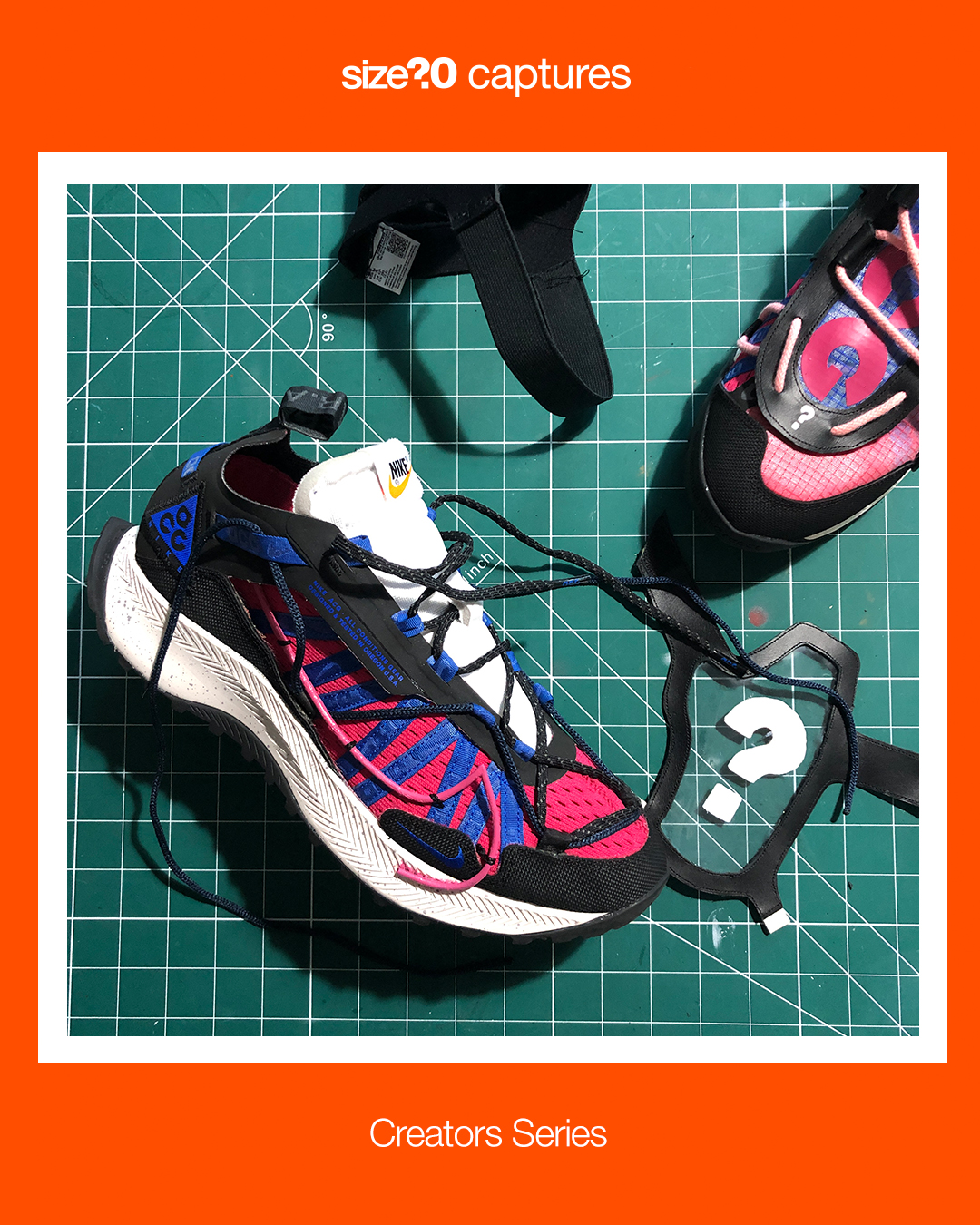 size? captures: Creators Series – How to customise your trainers with Brandon Haley
