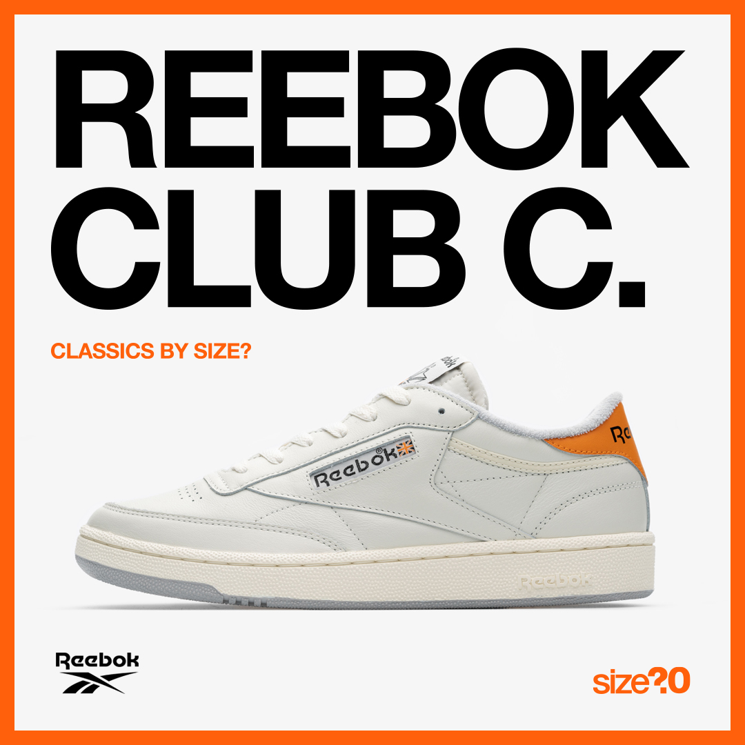 Celebrate an icon with the Reebok 'Classics by size?' Club C