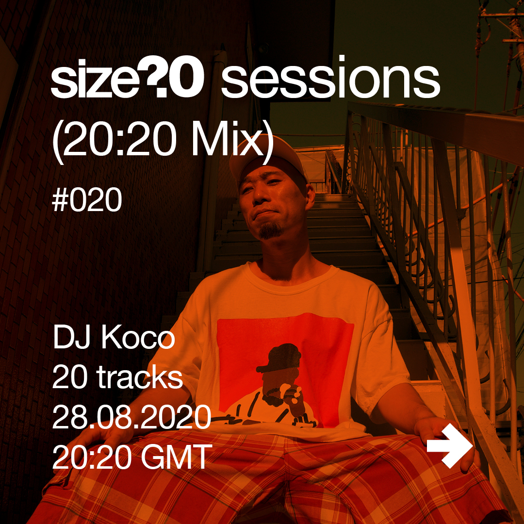 DJ Koco is the 20th guest in our size? sessions (20:20 Mix) series