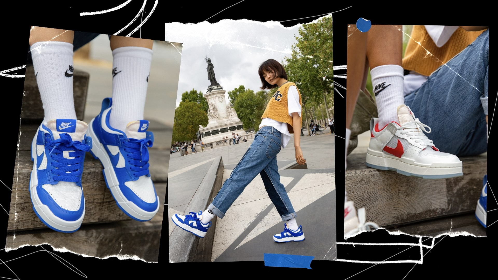 Alizé, Dayna & Renata talk the Women's Nike Dunk Low Disrupt – a court classic reimagined