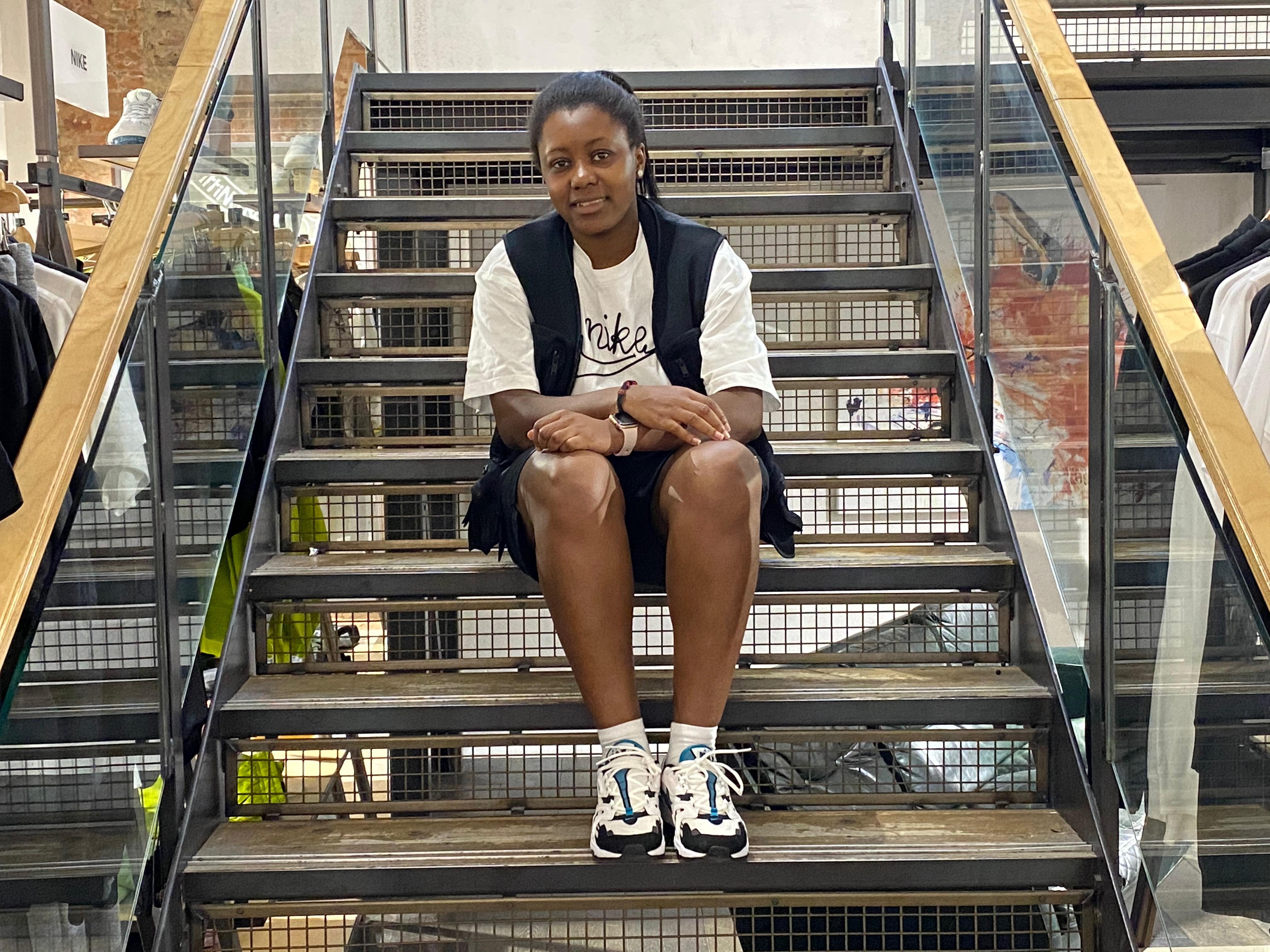 We're back at Carnaby Street to talk footwear & fashion with Sherelle