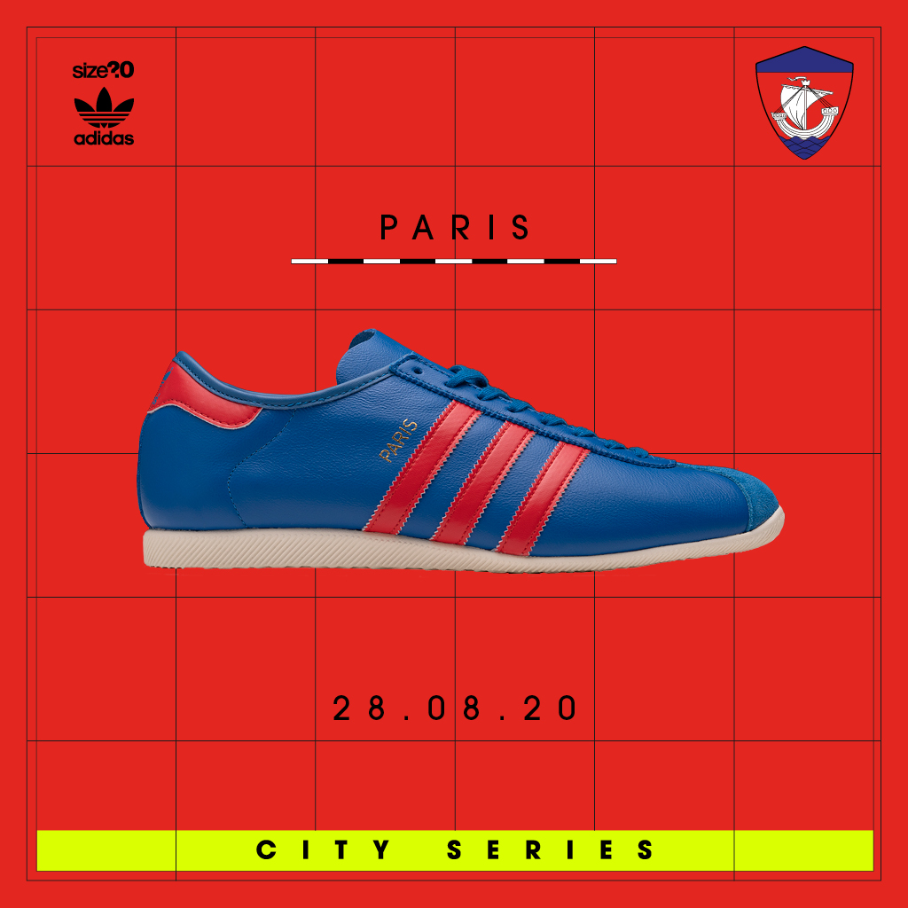 The adidas Originals Paris is the latest City Series silhouette to be plucked from the archive