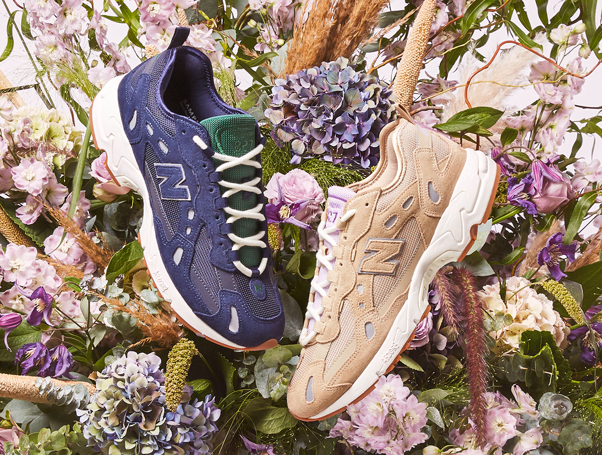 Our exclusive New Balance 827 'Aster Florists' pack is coming soon