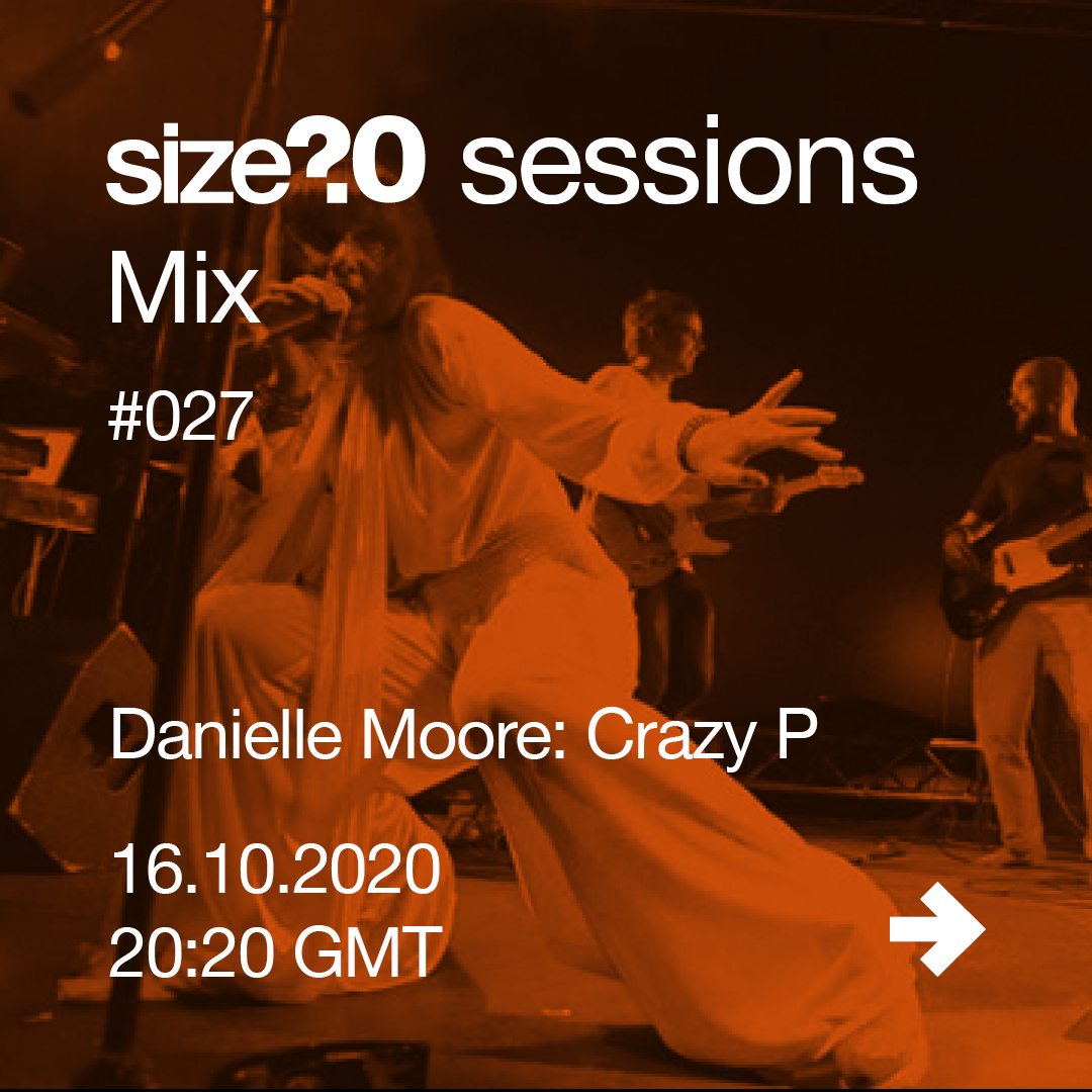 Danielle Moore joins us for our #27 size? sessions Mix – get to know her more here