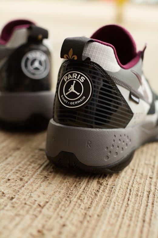 Jordan teams up with European giants Paris Saint-Germain for a football-themed collaboration