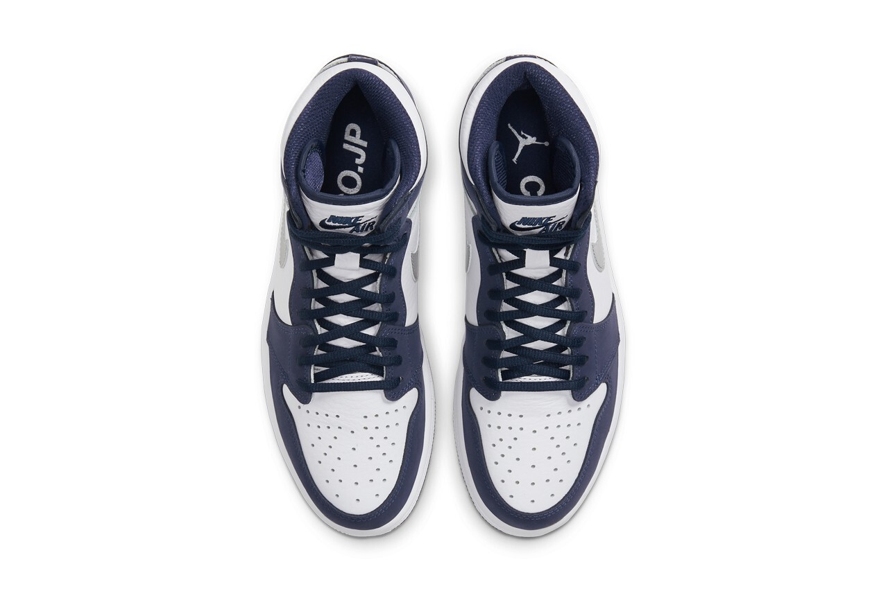 The Nike Air Jordan 1 High gets a 'Midnight Navy' remodelling
