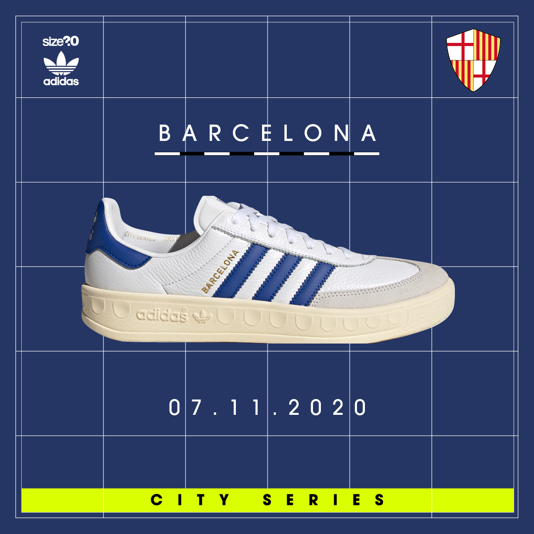 adidas Originals Barcelona is back once more