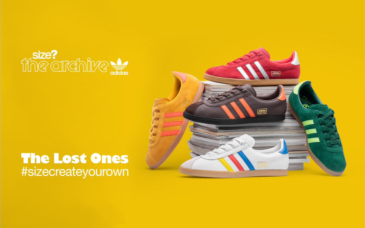 Now's your chance to design your own adidas Originals trainer with our 'Create Your Own' project