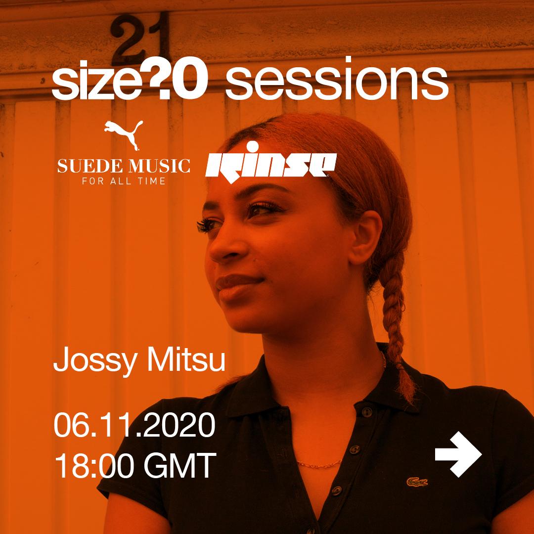 size? sessions Mix #30 Jossy Mitsu