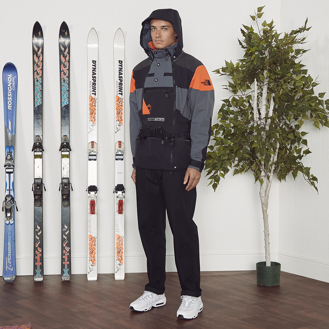 We team up with The North Face for an exclusive Steep Tech collection