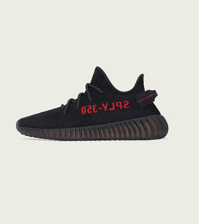 YEEZY Boost 350 v2 'Core Black/Red'