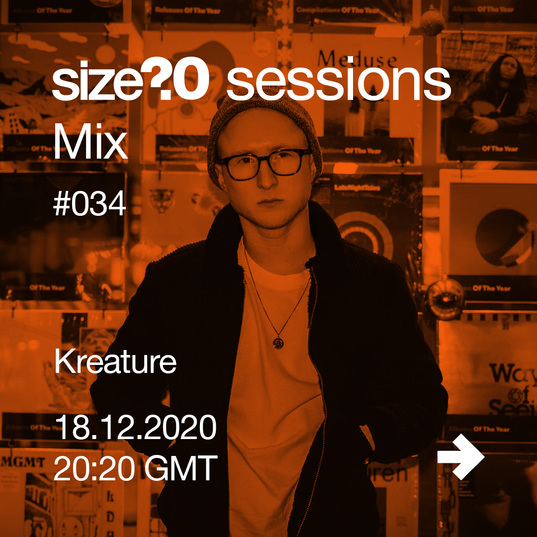 Kreature is our 34th size? sessions Mix artist