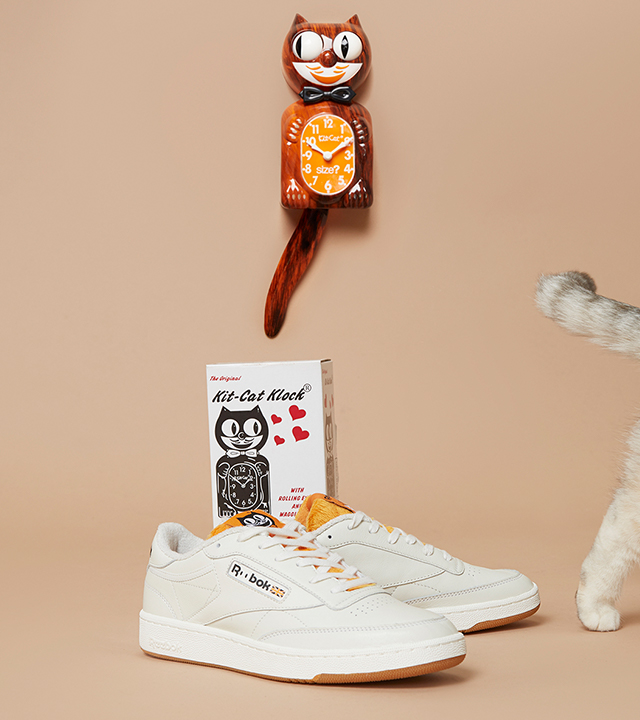 Take a look at our latest Reebok x Kit-Cat Clock collaboration