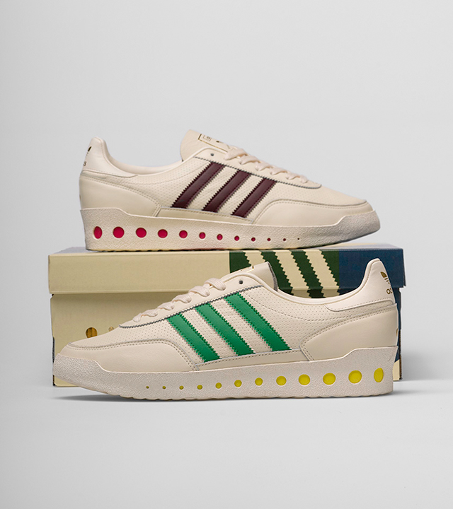 We've teamed up with adidas Originals & Cream for our final collaboration of 2020