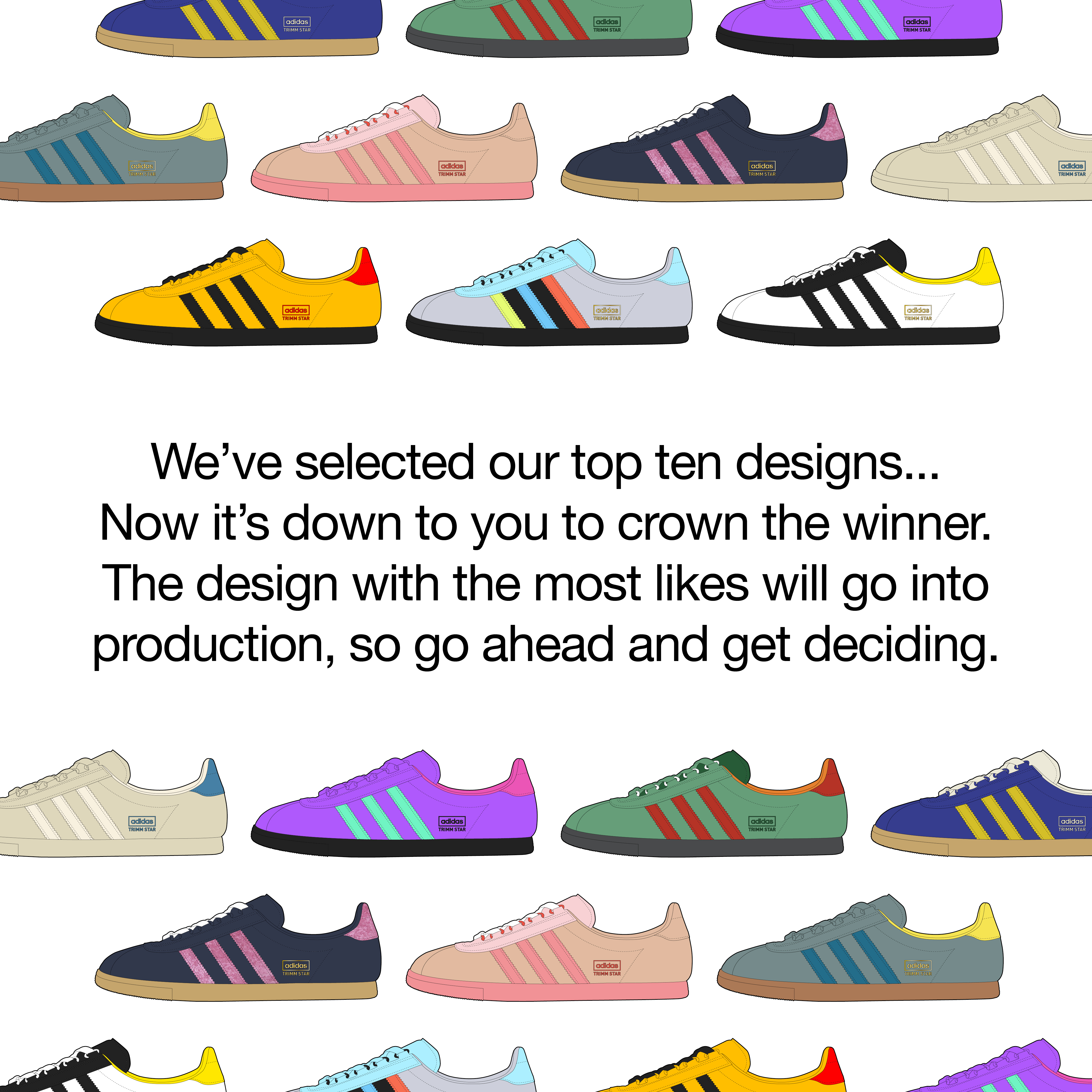 We've selected our adidas Originals 'The Lost Ones' finalists – so go get voting