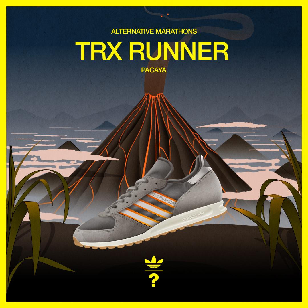 Take a trip around the globe with our second adidas Originals Alternative Marathon series
