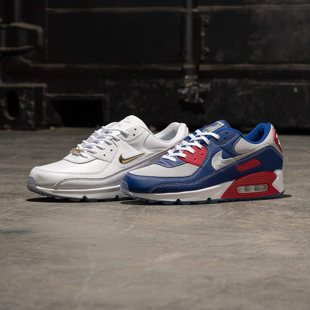 A look at Nike's latest Air Max 90 Garage/Grime pack
