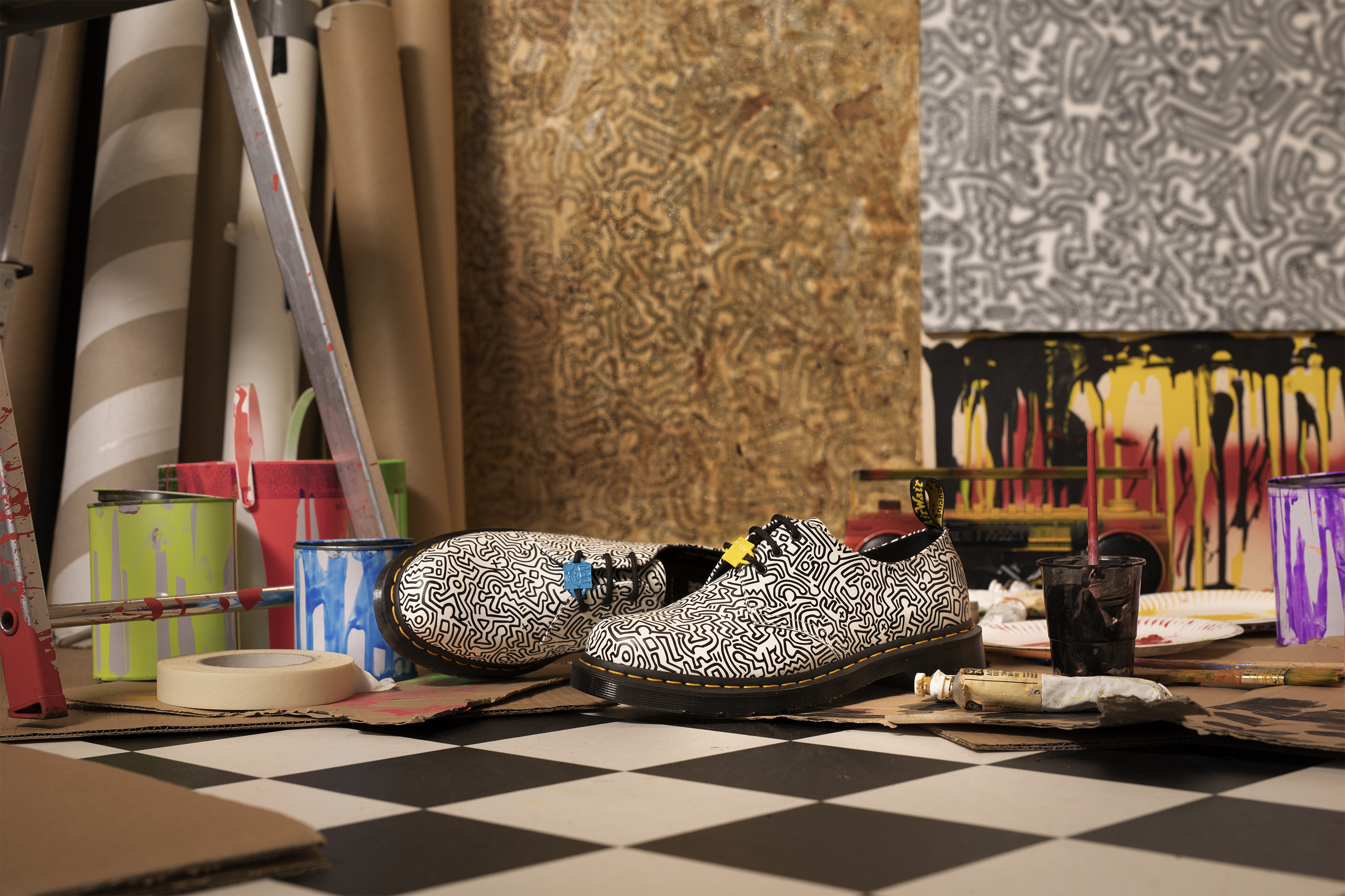 The Dr. Martens x Keith Haring collection is now on our site