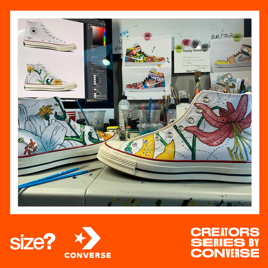 Paul Lempa – aka @kixar_studio reimagines the Chuck 70 as part of our Converse Creators Series