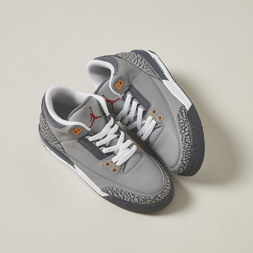 "The Air Jordan 3 returns with a classic ""Cool Grey"" colour-up"