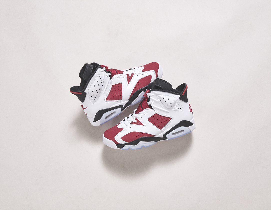 """Check out the latest Air Jordan 6 """"Carmine"""""""