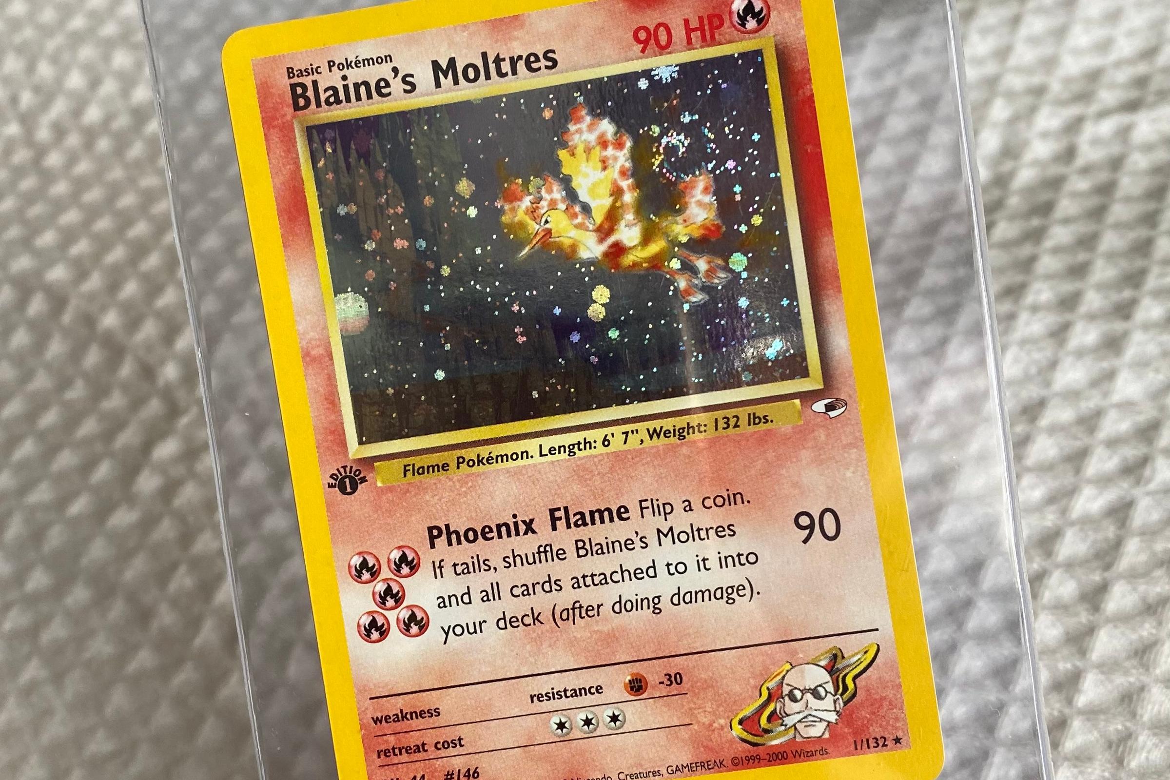 Pokémon Blaine's Moltres