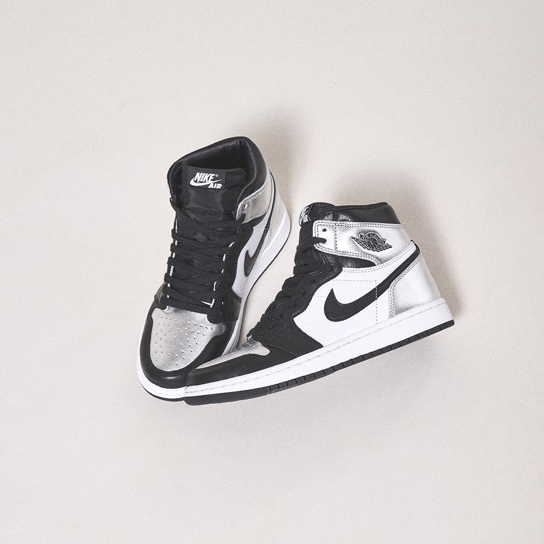 """Air Jordan 1 """"Silver Toe"""""""