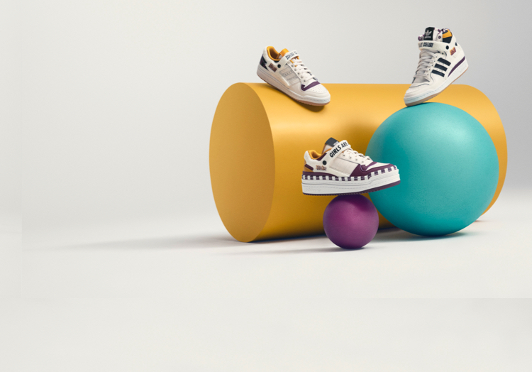 adidas Originals has teamed up with Girls Are Awesome for three new Forum designs