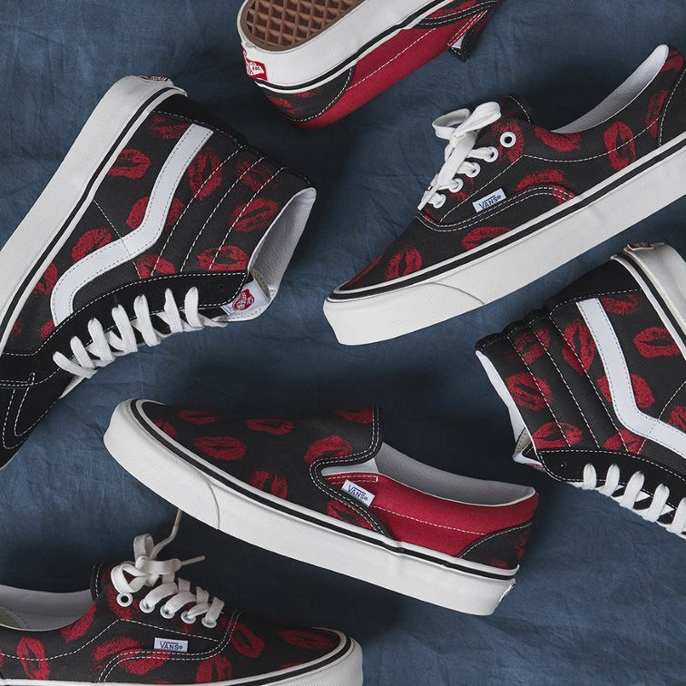 We look at Vans' latest Hot Lips collection