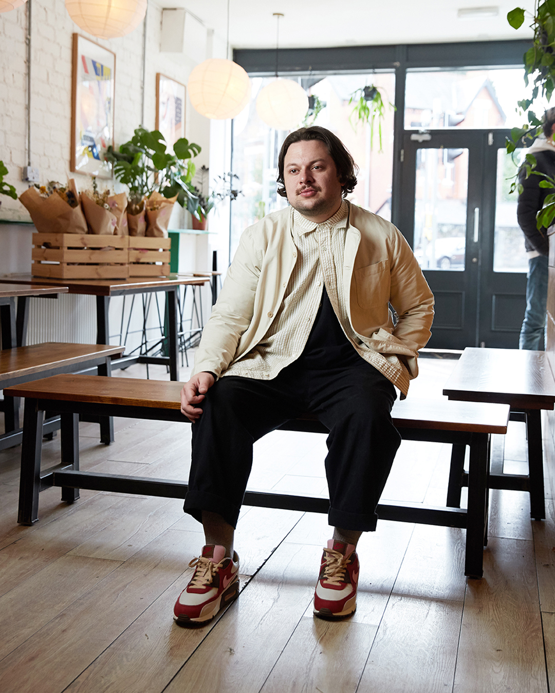 A Liverpool cafe owner who has an affinity with classic Air Max – Roland has a great story to tell