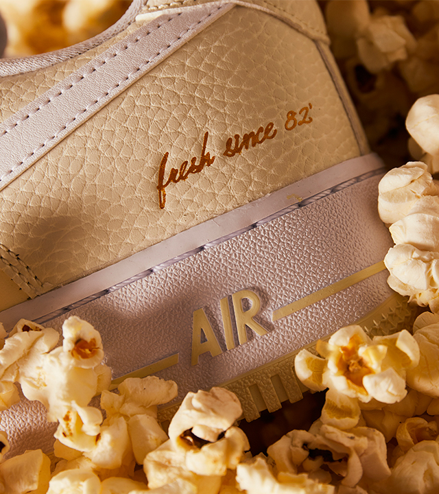 """Dig into Nike's """"Popcorn"""" Air Force 1 & Blazer Mid '77 pack"""