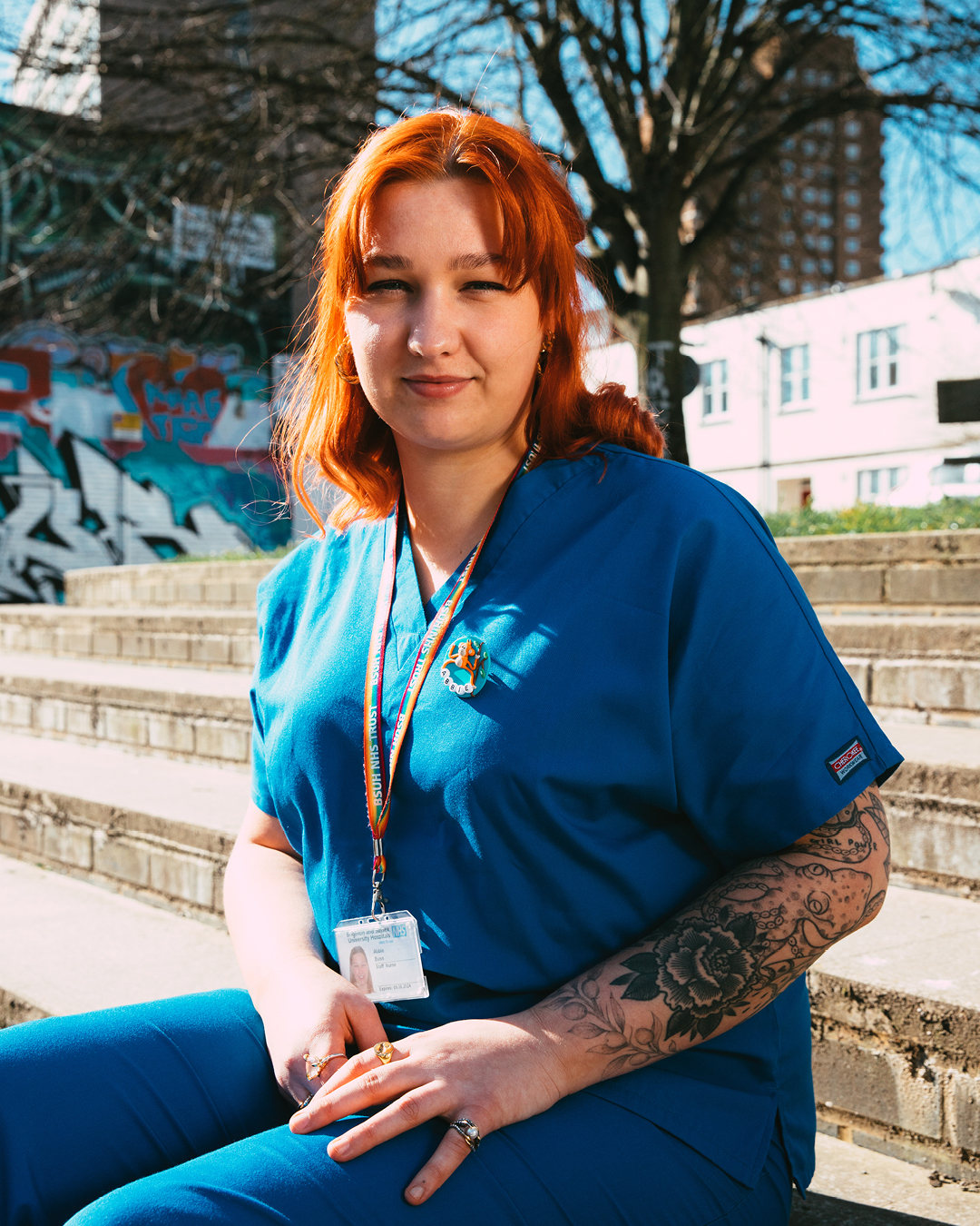 A Neonatal Nurse based in Brighton with a love for Air Max – read all about Abbie