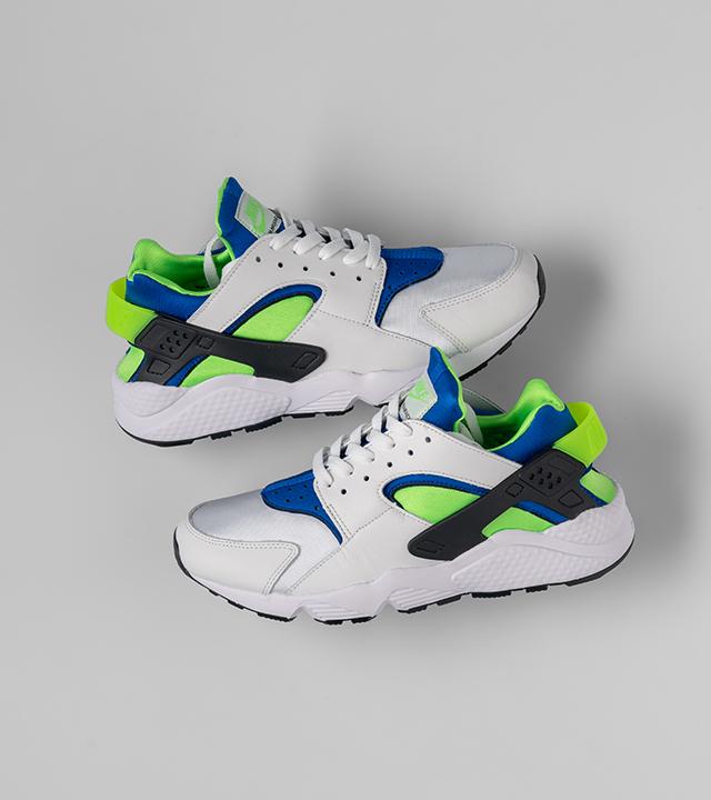 "Nike Air Huarache ""Scream Green"""