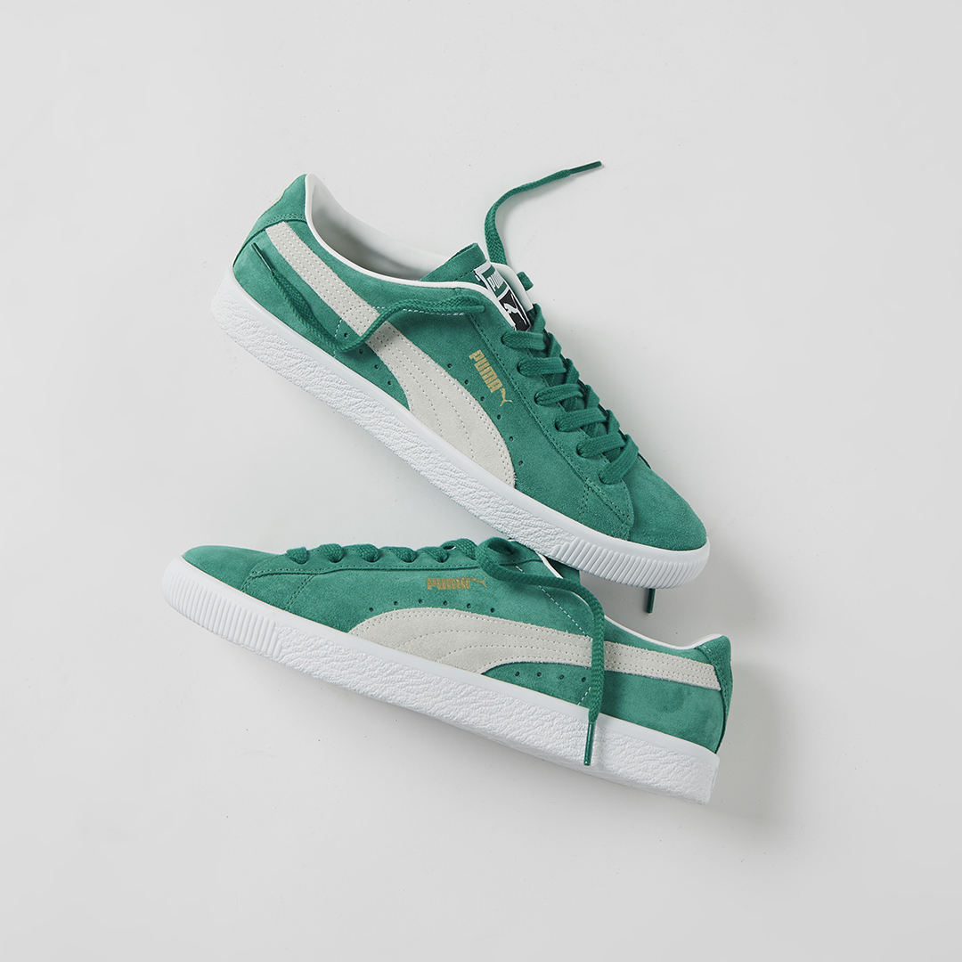 The PUMA Suede Vintage is back with a 'Kelly Green' guise