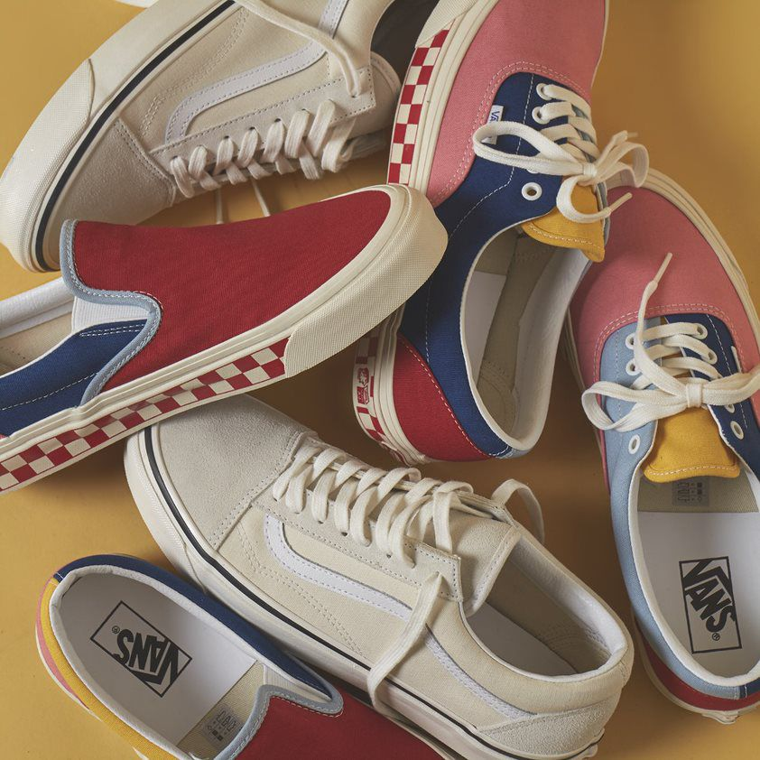 Our Vans collection is perfect for spring