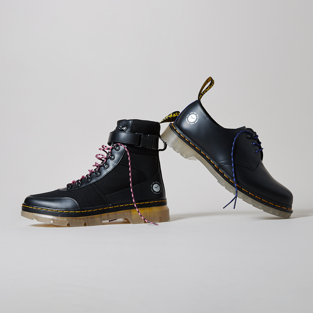 Dr. Martens teams up with atmos for a new collection