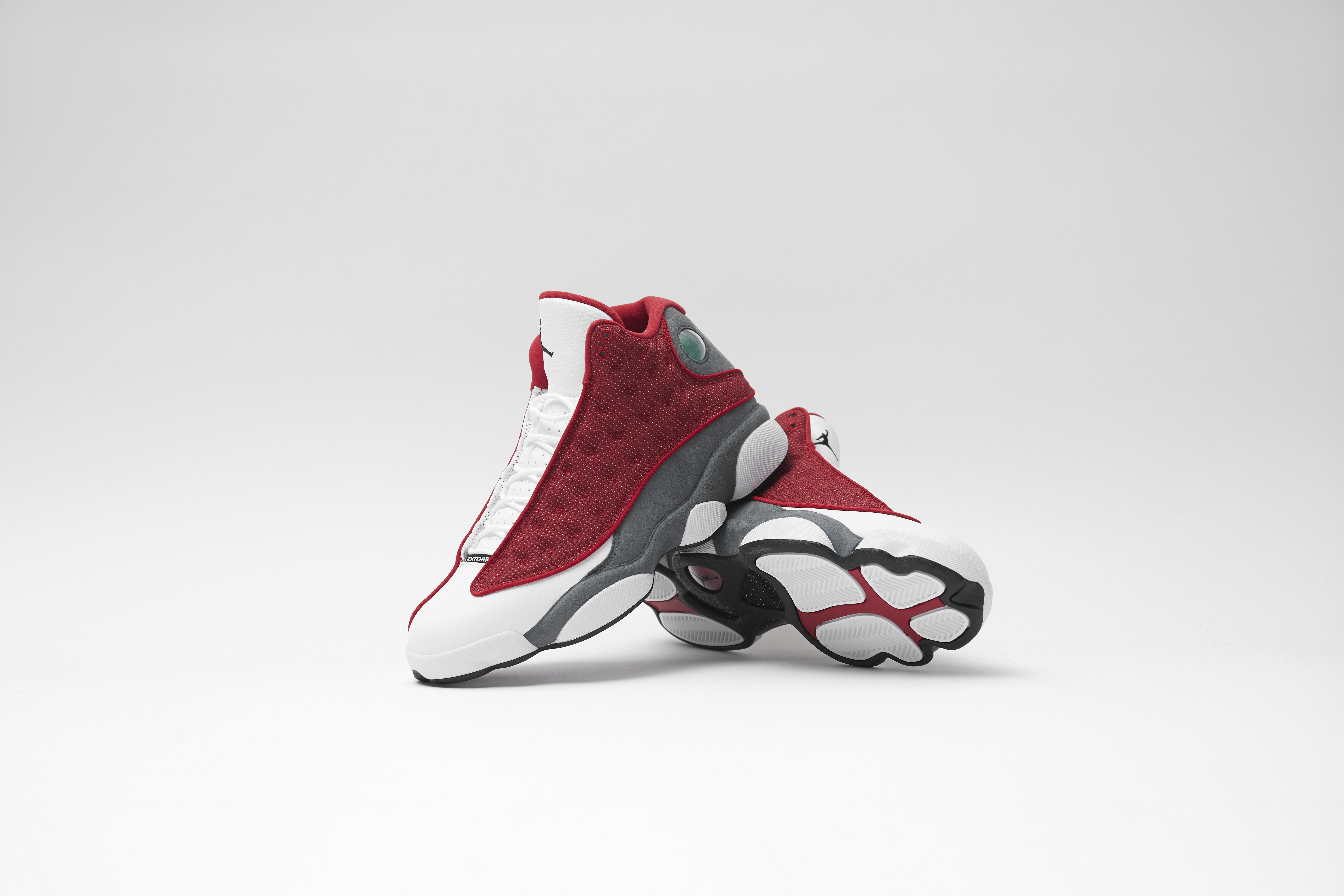 Take a look at the Air Jordan Retro 13 'Red Flint'
