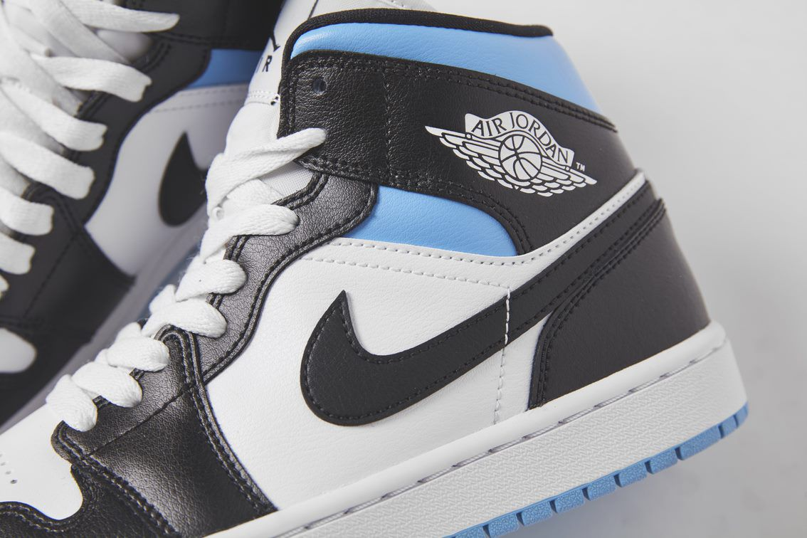 The Air Jordan 1 Mid 'Royal Black' is arriving soon