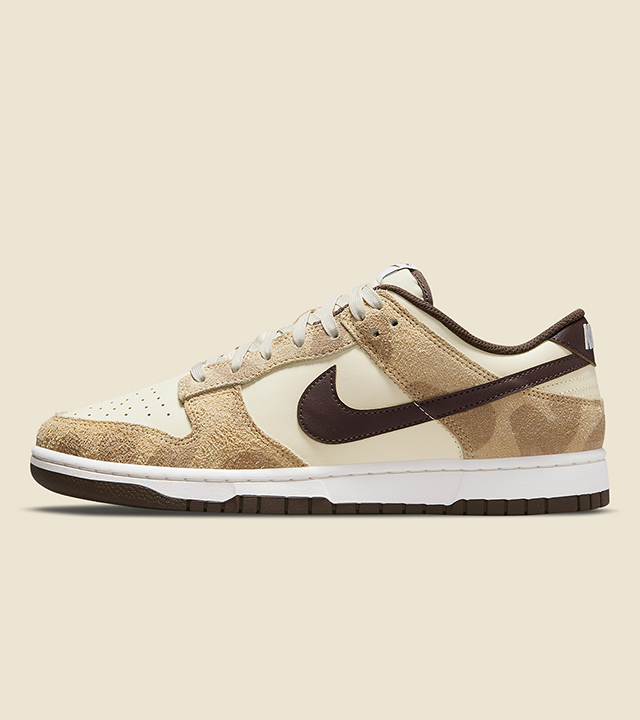 The Nike Dunk Low gets an animal print remodelling