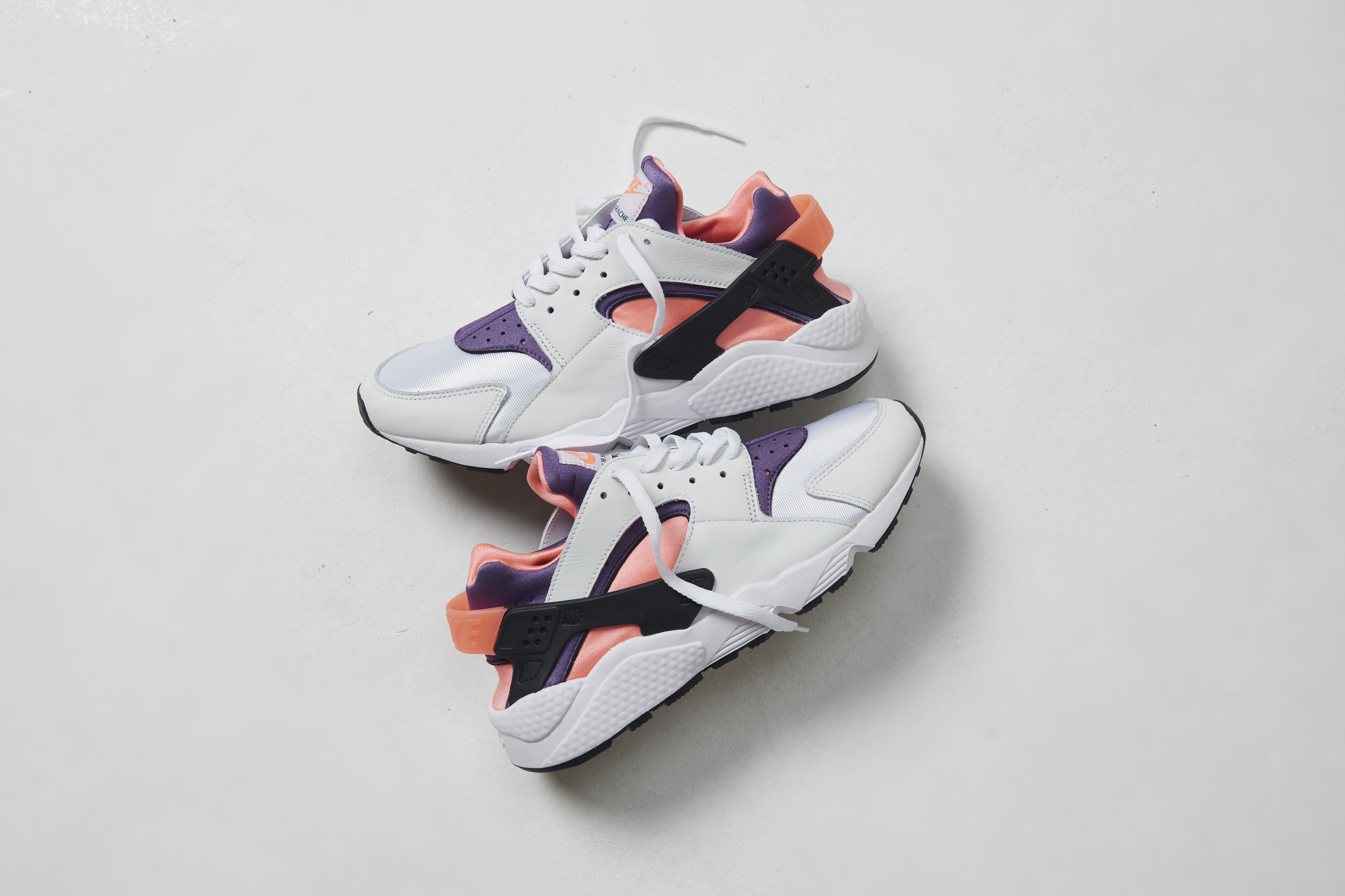 Check out the Nike Huarache in a 'Bright Mango' colourway
