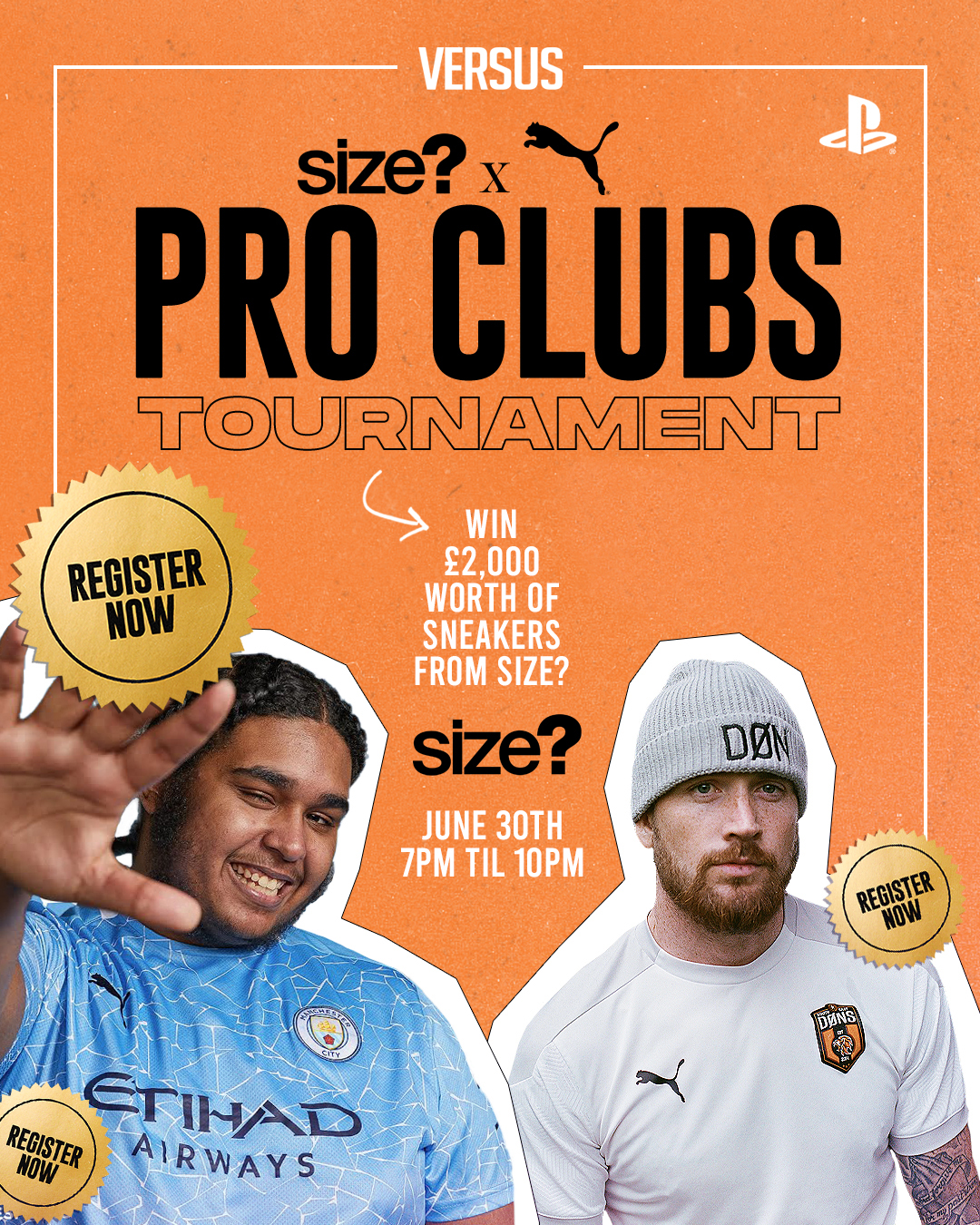 Presenting the size? x PUMA Versus Pro Clubs Cup Celebrating Football's Impact on Culture and Society