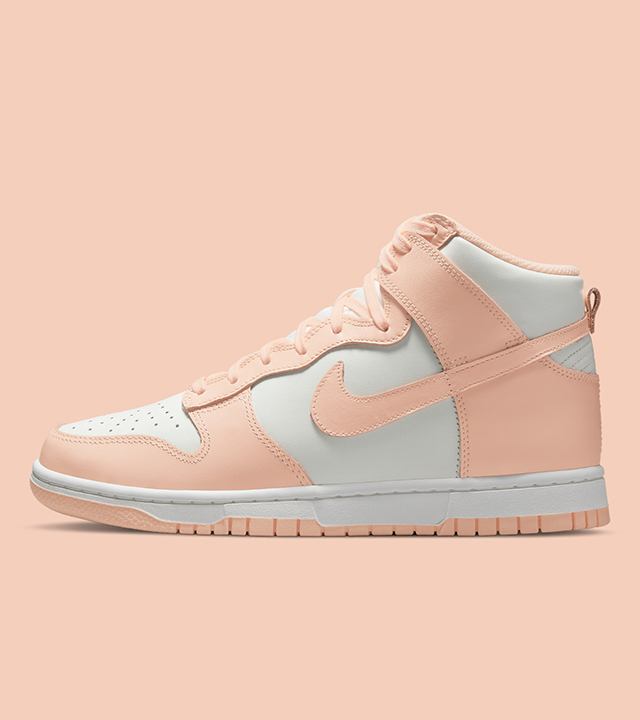 The Nike Dunk High 'Crimson Tint' – have a look