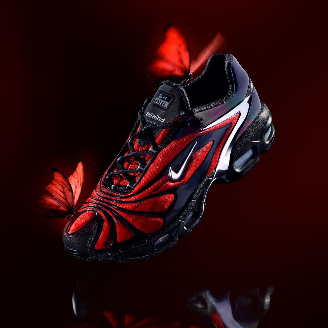 We look at the Nike x Skepta Air Max Tailwind 5 'Chrome Red'