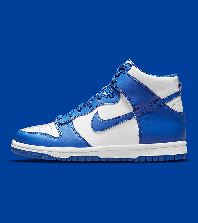 Check out the Nike Dunk High 'Game Royal'