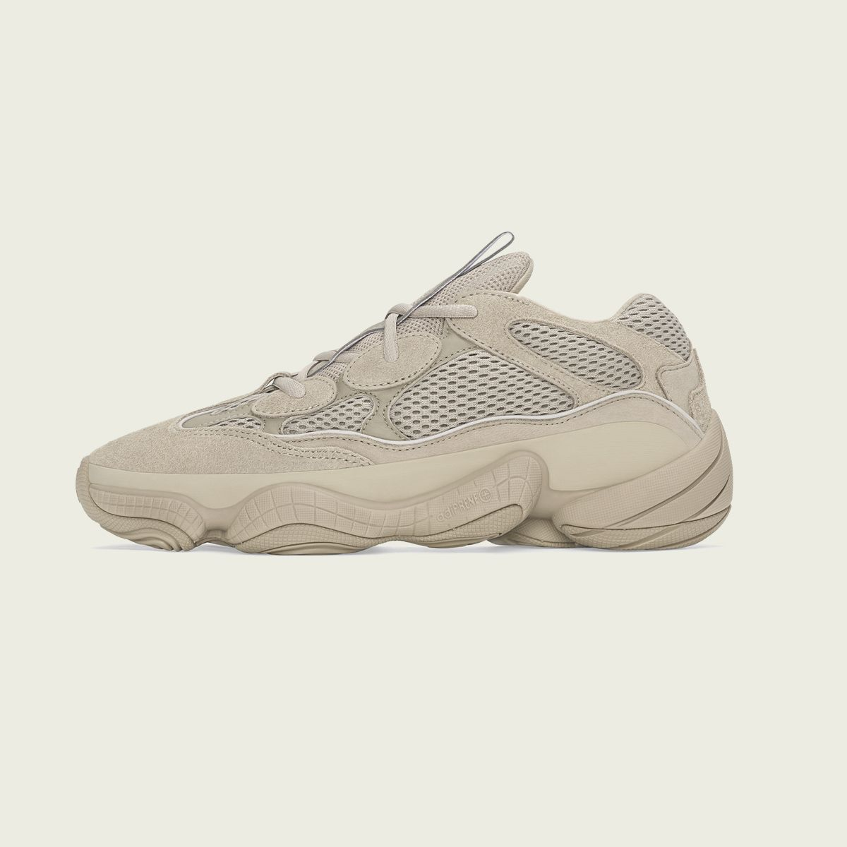 The YEEZY 500 drops in a 'Taupe Light' colour-up