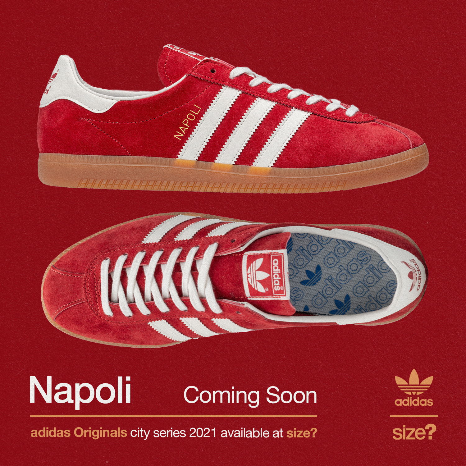 Our exclusive adidas Originals Napoli joins the City Series