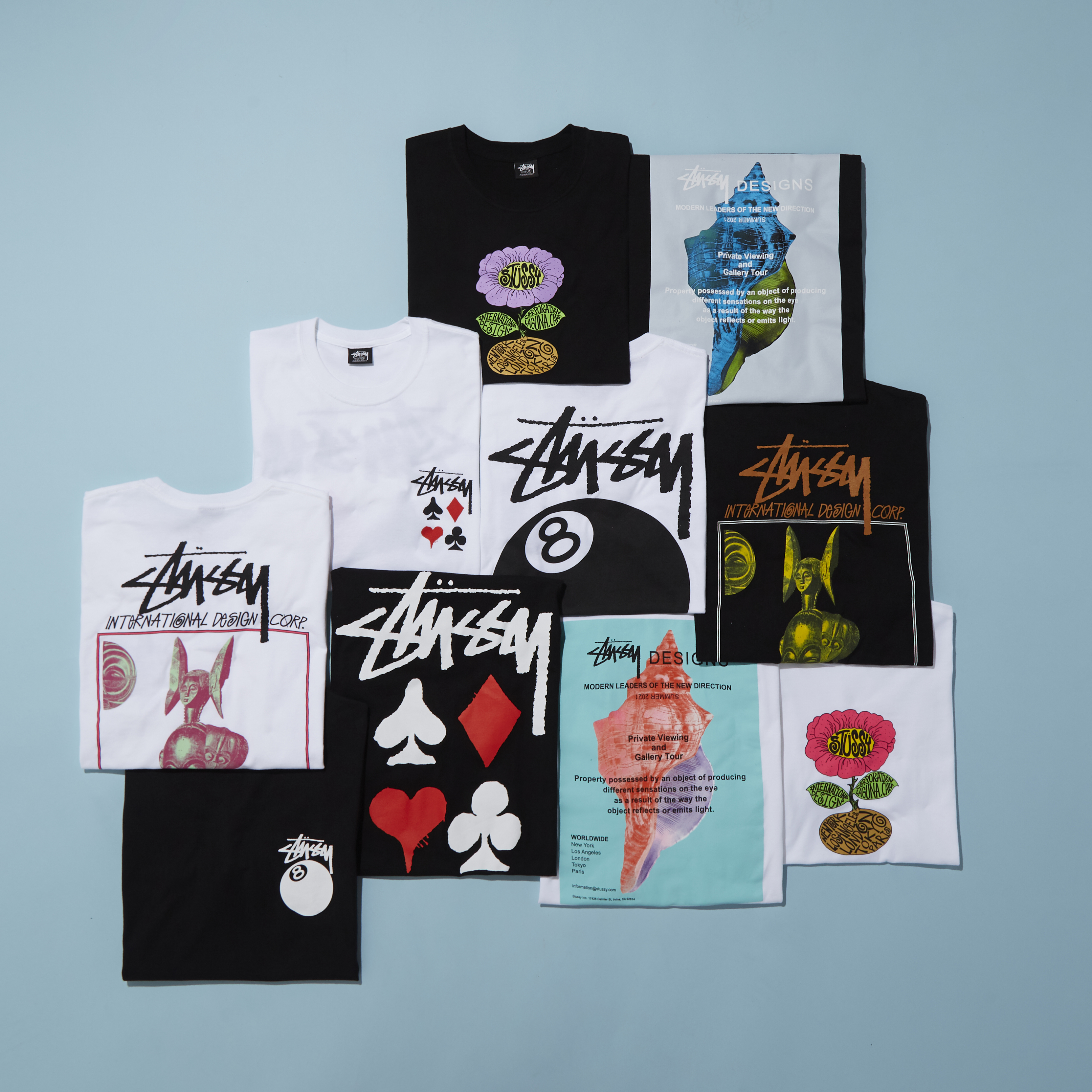 The Stussy Summer '21 – Drop One has landed